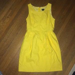 Yellow J. Crew Dress